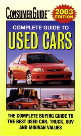 9780785372813 2003 complete guide to used cars consumer guide used rh abebooks com consumer guide used car reviews consumer guide used car reports