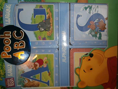 9780785377566: Pooh ABC 26 Alphabet Cards (Pooh Early Learning)