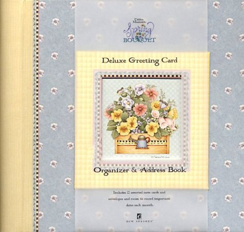 9780785380412: Debbie Mumm's Spring Bouquet Deluxe Greeting Card Organizer & Address Book