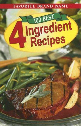 9780785380511: 100 Best 4 Ingredient Recipes