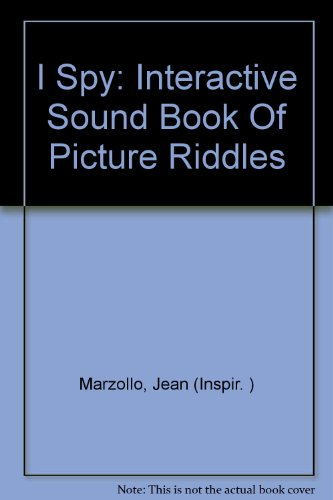 9780785384243: I Spy Interactive Sound Book of Picture Riddles