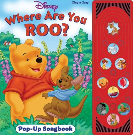 9780785384496: Winnie the Pooh: Where are you Roo? (Pop Up Song Book)