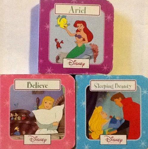 Ariel, From Little Mermaid, Sleeping Beauty, & Cinderella, 0+ Ages, Little Wooden Board Book ...
