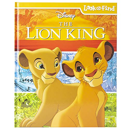 Disney's The Lion King Look and Find