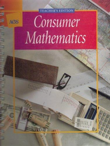 9780785404378: Consumer Mathematics