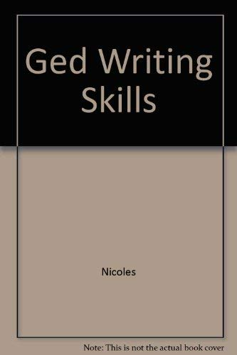 9780785412670: Ged Writing Skills
