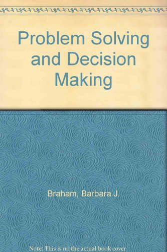 9780785413462: Problem Solving and Decision Making