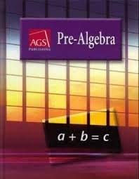 9780785414513: PRE-ALGEBRA HARDCOVER