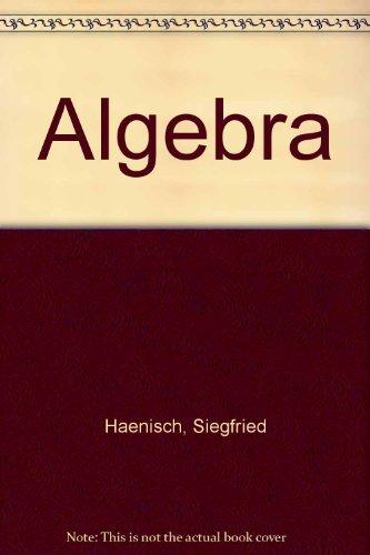 Algebra Student Workbook (0785414592) by Haenisch, Siegfried