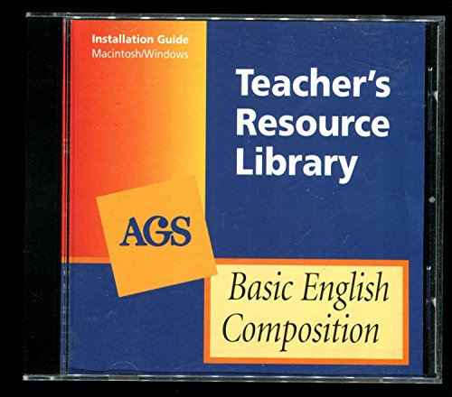 9780785420637: AGS Teacher's Resource Library - Basic English Composition - CD-ROM