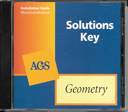 AGS Solutions Key: Geometry (1st): AGS