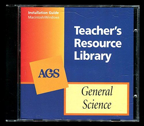 9780785421849: AGS Teacher's Resource Library - General Science - CD-ROM