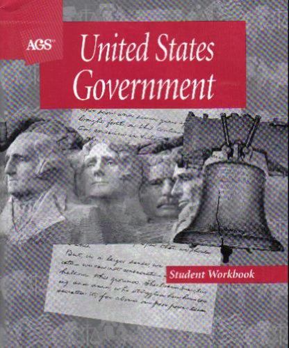 9780785425069: UNITED STATES GOVERNMENT STUDENT WORKBOOK
