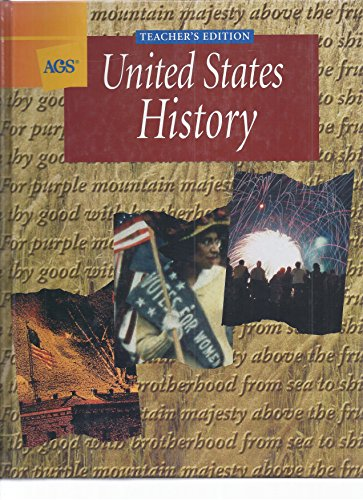 United States History (Teacher's Edition): Wayne E. King,
