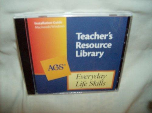 9780785425540: EVERYDAY LIFE SKILLS TEACHERS RESOURCE LIBRARY (Ags Everyday Life Skills)
