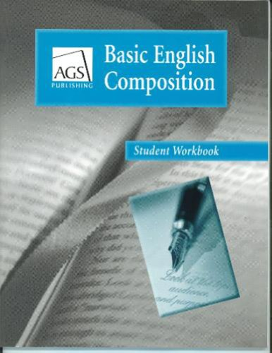 9780785429272: BASIC ENGLISH COMPOSITION STUDENT WORKBOOK (Ags Basic English Composition)
