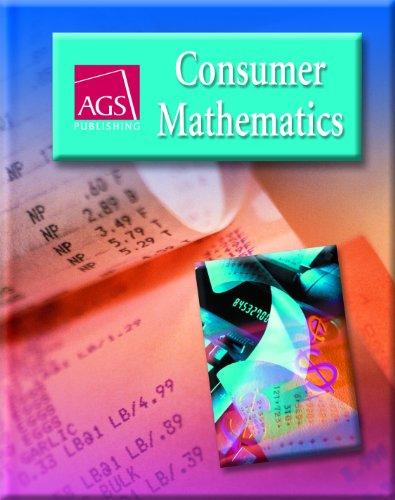 9780785429432: CONSUMER MATHEMATICS STUDENT TEXT