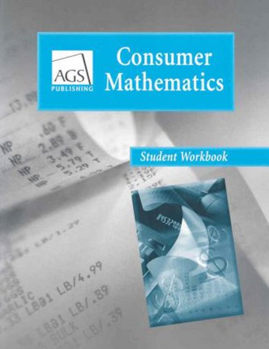 9780785429456: Consumer Mathematics student workbook