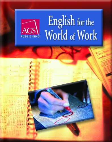 9780785430742: ENGLISH FOR THE WORLD OF WORK STUDENT TEXT