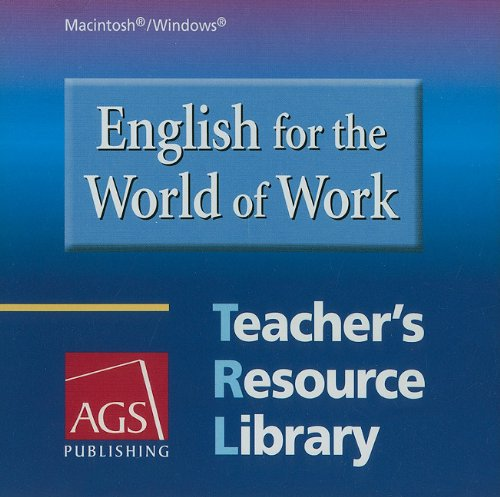 9780785430827: ENGLISH FOR THE WORLD OF WORK TEACHERS RESOURCE LIBRARY ON WINDOWS AN D MACINTOSH