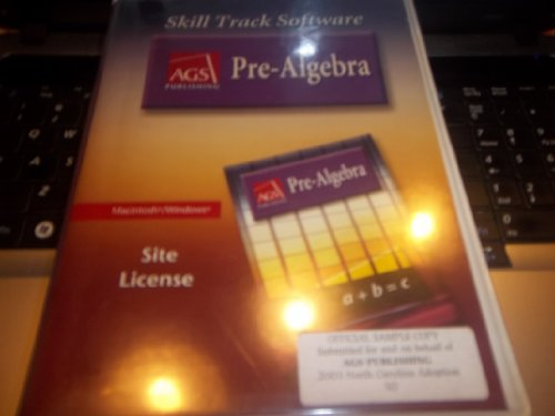 9780785435655: PRE-ALGEBRA SKILL TRACK SOFTWARE, SITE LICENSE