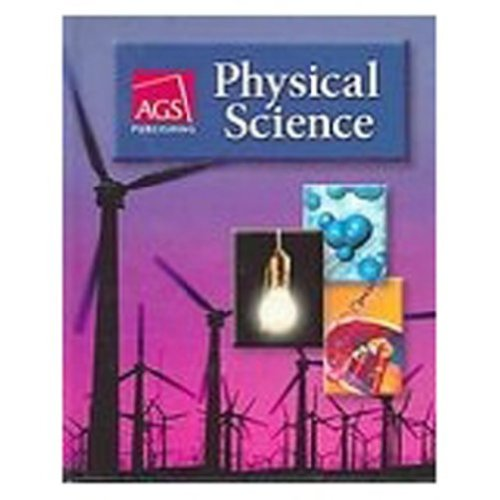9780785436263: PHYSICAL SCIENCE STUDENT WORKBOOK (Ags Physical Science)