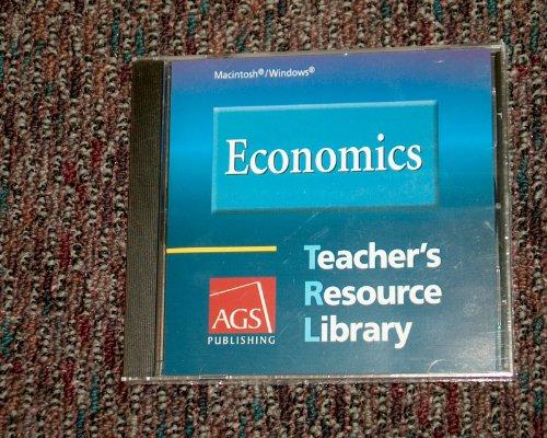 9780785437741: Economics Teachers Resource Library on CD-ROM for Windows and Macintosh