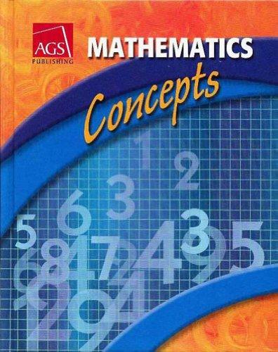 9780785437826: MATHEMATICS: CONCEPTS TEACHERS EDITION