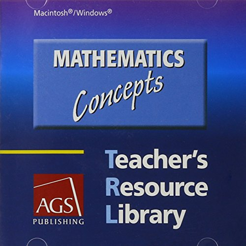 9780785437857: MATHEMATICS: CONCEPTS TEACHERS RESOURCE LIBRARY ON CD-ROM FOR WINDOWS AND MACINTOSH