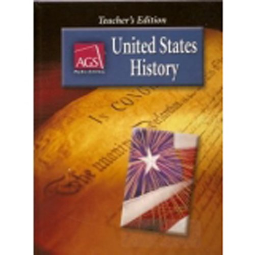 UNITED STATES HISTORY TEACHERS EDITION (0785438602) by Wayne King; John L. Napp