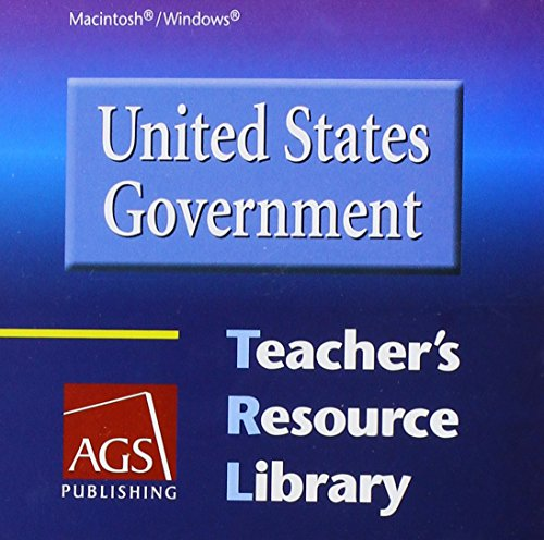 9780785438731: United States Government Teachers Resource Library on CD-ROM