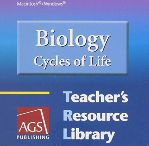 9780785439769: BIOLOGY: CYCLES OF LIFE TEACHERS RESOURCE LIBRARY ON CD-ROM FOR WINDOWS AND MACINTOSH