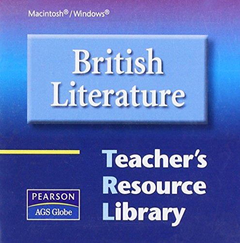 9780785440925: BRITISH LITERATURE TEACHER'S RESOURCE LIBRARY