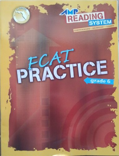 AMP Reading System, FCAT Practice, Florida Edition, Grade 6: Globe, Pearson AGS