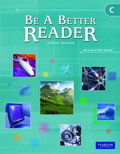 9780785466581: BE A BETTER READER LEVEL C STUDENT WORKTEXT