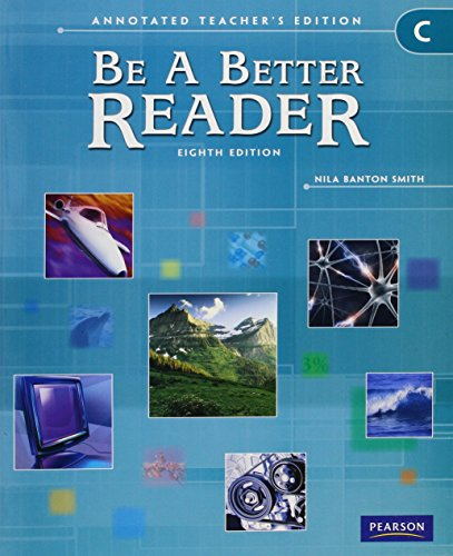 9780785466659: BE A BETTER READER LEVEL C ATE