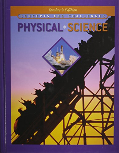 9780785467656: Concepts and Challenges in Physical Science, Teacher's Edition