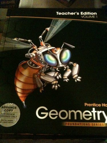 9780785470236: Geometry, Vol. 1, Teacher's Edition, (Foundation Series)