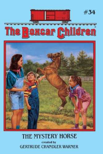 The Mystery Horse (Turtleback School & Library Binding Edition) (Boxcar Children (Pb)): ...