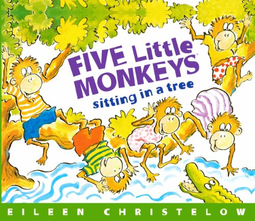 9780785709466: Five Little Monkeys Sitting In A Tree (Turtleback School & Library Binding Edition)