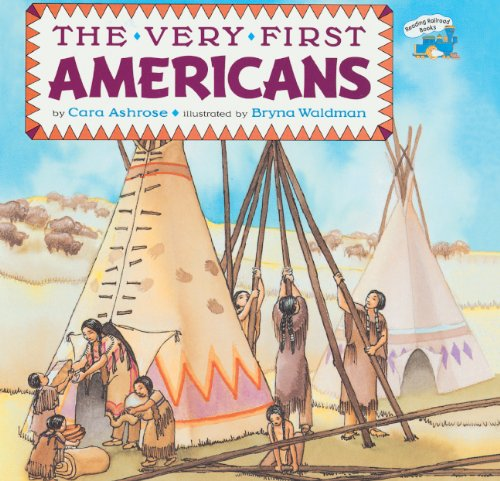 9780785725367: The Very First Americans (Turtleback School & Library Binding Edition) (Reading Railroad Books)
