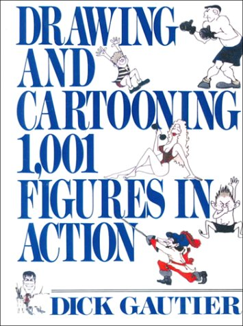 9780785729327: Drawing and Cartooning 1,001 Figures in Action