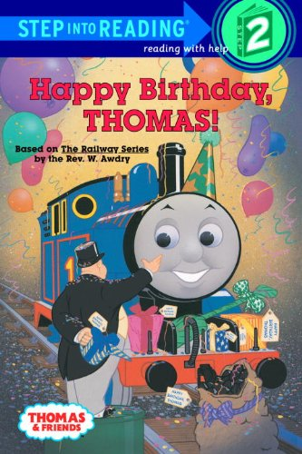 9780785746492: Happy Birthday, Thomas! (Turtleback School & Library Binding Edition) (Step Into Reading: A Step 1 Book)