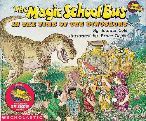 9780785763246: The Magic School Bus In The Time Of The Dinosaurs (Turtleback School & Library Binding Edition)