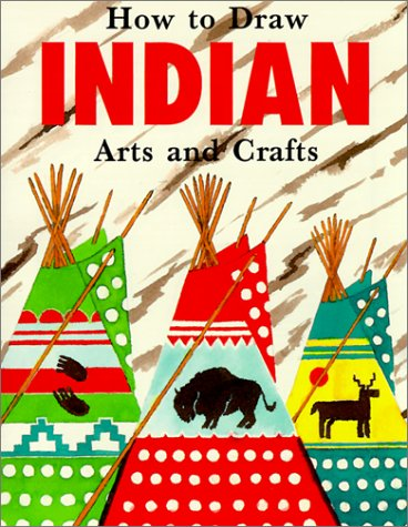 9780785763512: Ht Draw Indian Arts & Crafts (How to Draw (Troll))