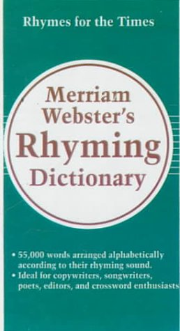 9780785770121: Merriam-Webster's Rhyming Dictionary