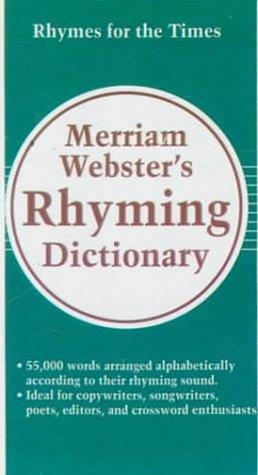 9780785770121: Merriam-Webster's Rhyming Dictionary