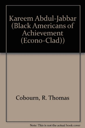 9780785771173: Kareem Abdul-Jabbar (Black Americans of Achievement (Econo-Clad))