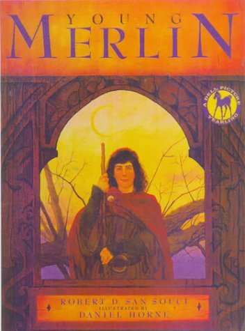 Young Merlin: Robert D. San Souci