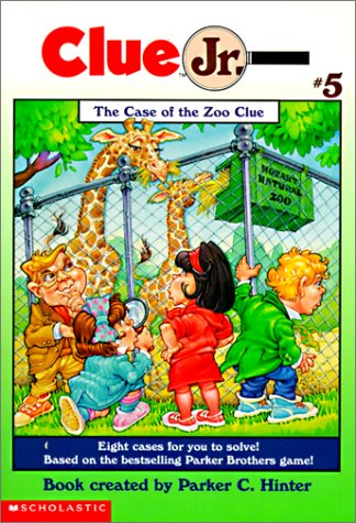 9780785795674: The Case of the Zoo Clue (Clue Jr.)